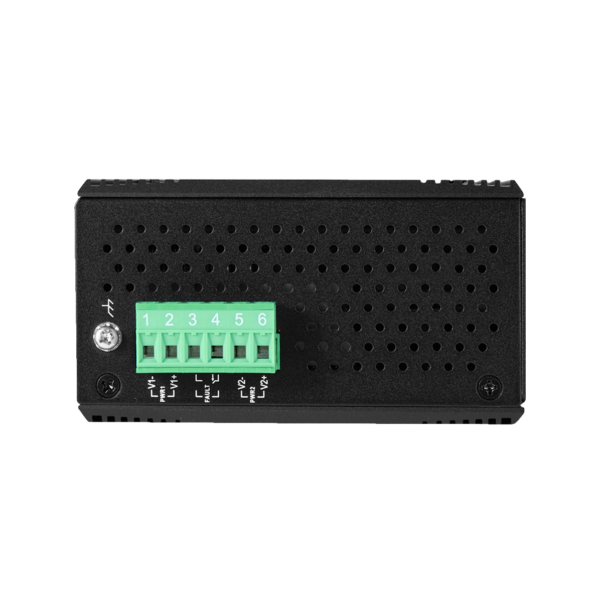 6-Port Industrial Managed Ethernet Switch - 4*10/100Tx + 2